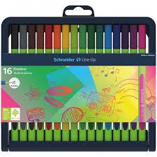 <b>Schneider Набор капиллярных</b> ручек Line-Up 16 цветов ...