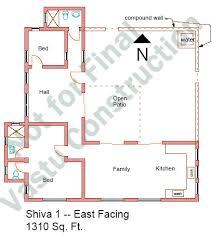 East Facing Shiva Series   Vastu Home PlansShiva