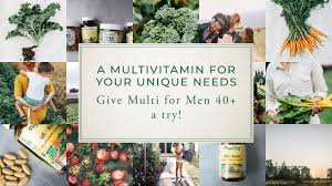 MegaFood <b>Multi for Men 40</b>+ - YouTube