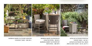 barbara barry outdoor horizon console table bb 300 barbara barry outdoor antalyaa bar stool