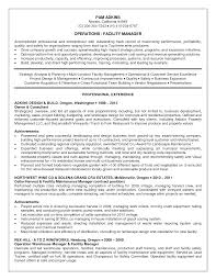 facility manager resume getessay biz maintenance manager samples in facility manager facility manager wine and spirits in san francisco ca in facility manager