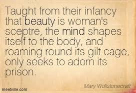 FAT MU, Monday MU-se: Mary Wollstonecraft via Relatably.com