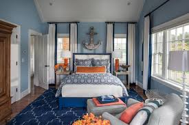 nautical bedroom decor furniture with cool accessories and glass windows also curtain and white blue bed decorative carpet grey chair long curtain and nautical furniture decor