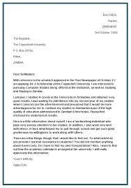 Intent Letter Format  sample letter of intent sample letter of     Job Application Cover Letter Format For