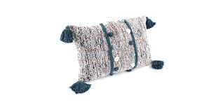 <b>Подушка декоративная с помпонами</b> и кисточками - купить в ...