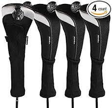 Andux 4pcs/Pack Long Neck Golf Hybrid Club Head ... - Amazon.com