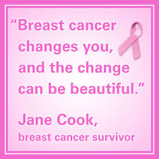 11 Inspirational Breast Cancer Quotes - Chamberlain Nursing Blog via Relatably.com