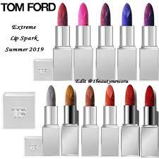 Новая линия губных <b>помад Tom</b> Ford Extreme <b>Lip</b> Spark Summer ...