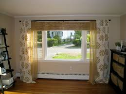 room curtain large window treatment window ideas for living room curtains round