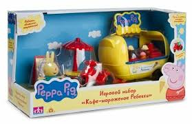 Игровой набор Intertoy <b>Peppa Pig Кафе-мороженое Ребекки</b> 30628