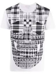 Купить мужские <b>футболки</b> с принтом Alexander Mc Queen в ...