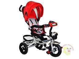<b>Велосипед 3-х колесный</b> (звук, свет) надувные колеса YM-17 ...