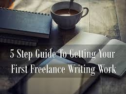 5 step guide to getting your first lance writing work make a lance writing work header