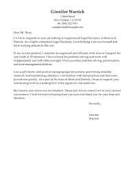 legal assistant cover letter example in legal cover letters my legal secretary cover letter examples legal cover letter samples in legal cover letters