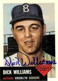 Dick Williams Autograph on a 1953 Topps Archive (#125)