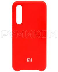 <b>Силиконовый бампер Silicone</b> Cover для Xiaomi Mi 9 SE (красный ...