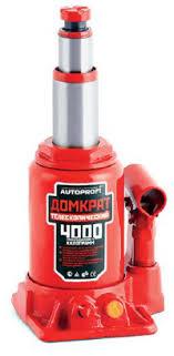 <b>Домкрат</b> бутылочный Автопрофи DT-04, <b>телескопический</b>, 4 т ...