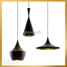 beat light tall fat wide 3 lamps black white aluminum pendant black pendant lighting