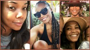 20 black celebrities who ditched the makeup and sla anyway urban gyal