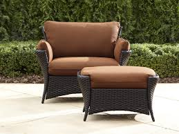 patio chair ottoman outdoor furniture