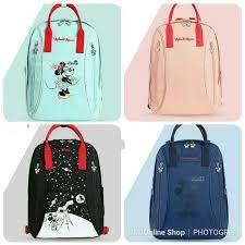 <b>Disney diaper</b> bag with <b>usb heated</b> insulated milk bag | Shopee ...