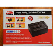 Отзыв о <b>Док</b>-<b>станция AGESTAR</b> USB 3.0 2-BAY For 2.5/3.5 SATA ...