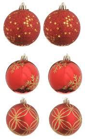 Купить <b>Набор шаров Christmas</b> goods 81075G003, красный, 6 шт ...