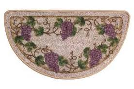 grapes grape themed kitchen rug: wine grapes kitchen slice rug wine decor rug