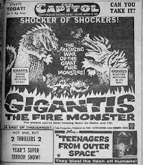 Image result for images of gigantis the fire monster