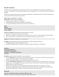 great ideas for resumes cipanewsletter great objectives for resumes berathen com