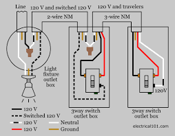 3 way switch wiring electrical 101 3 way light switch wiring diagram 2