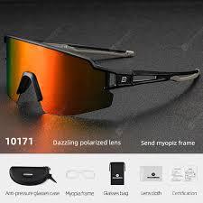 ROCKBROS Polarized Photochromic Cycling Glasses Bike Glasses ...