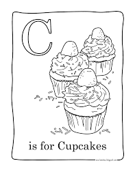 Small Picture To print this free coloring page coloring facile cupcakes click