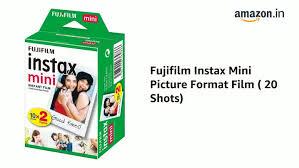 <b>Fujifilm Instax Mini</b> Picture Format <b>Film</b>: <b>FUJIFILM</b>: Amazon.in ...