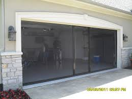 Retractable Garage Door Screens Home Design Ideas Gigforestnet - Exterior garage door