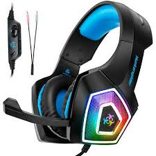Envolvente V1 <b>Auriculares Gaming Headset</b> Stereo 3.5mm LED ...