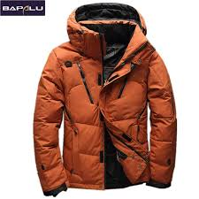 2019 High Quality <b>90</b>% White Duck Down Jacket men coat Snow ...