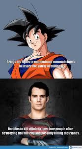 Goku vs Superman Memes That Are Going Viral All Over Internet ... via Relatably.com