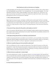 interview questions to ask interviewees  more information 10 interview questions to ask when recruiting good interview questions to ask 10 things you should never ask during a job interview reboot