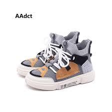 <b>AAdct Autumn</b> mesh <b>new</b> kids shoes running sports Breathable boys