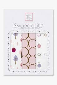 <b>Набор пеленок SwaddleDesigns Swaddle Lite</b>, Cute & Calm Pastel ...