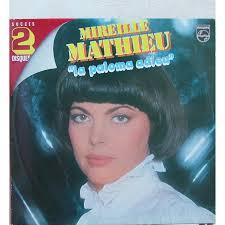 MIREILLE MATHIEU la paloma adieu, DOUBLE 33T GATEFOLD en vente sur ... - 114681884