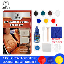 <b>LUDUO</b> DIY Liquid Leather Repair Kit Vinyl Furniture Paint <b>Car</b> ...