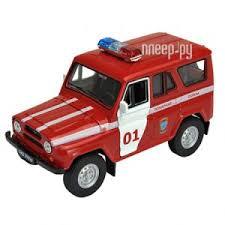 <b>Игрушка Welly</b> УАЗ 31514 Пожарная Охрана 42380FS