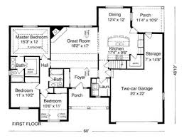 Example of House Plan Blueprint Sample House Plans  example of