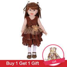 39;45 см кукла Sweet Girl, <b>коричневые</b> длинные прямые волосы ...