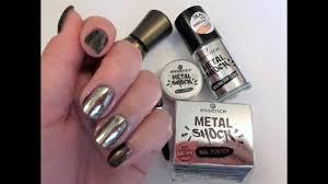 Покупки ЗЕРКАЛЬНЫЙ МАНИКЮР <b>втирка</b> Essence <b>Metal</b> Shock 01