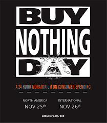 it s buy nothing day i