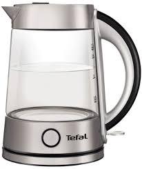 Купить электрический <b>чайник Tefal Glass Kettle</b> KI760D30 ...