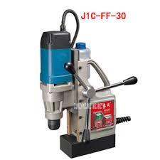 Electric Mini Magnatic Drilling Machine J1C-FF-30 Magnetic Seat ...